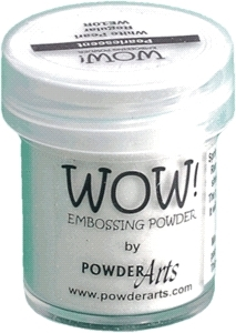 WOW Embossing Powder WHITE PEARL Regular WE10R