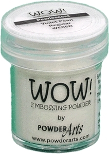 WOW Embossing Powder VIOLET PEARL Regular WE05R