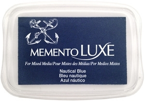 Memento Luxe NAUTICAL BLUE Ink Pad Tsukineko ML-607*
