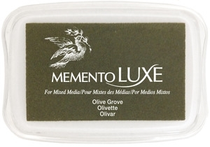 Memento Luxe OLIVE GROVE Ink Pad Tsukineko ML-708
