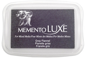 Memento Luxe GRAY FLANNEL Ink Pad Tsukineko ML-902 Preview Image