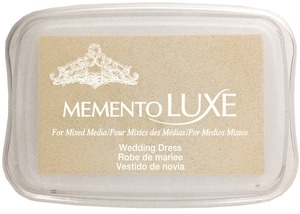 Memento Luxe WEDDING DRESS Ink Pad Tsukineko ML-910 zoom image