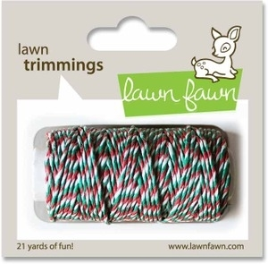 Lawn Fawn MISTLETOE Single Cord Trimmings LF527 Preview Image