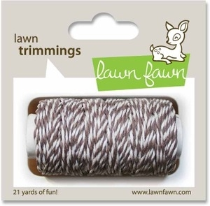 Lawn Fawn HOT COCOA Single Cord Trimmings LF524