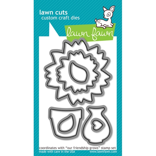 Lawn Fawn OUR FRIENDSHIP GROWS Lawn Cuts Dies LF572 Preview Image