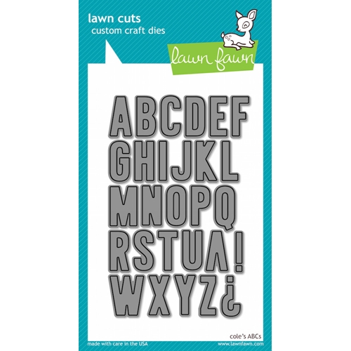 Lawn Fawn COLE'S ABCs Lawn Cuts Dies LF576 Preview Image