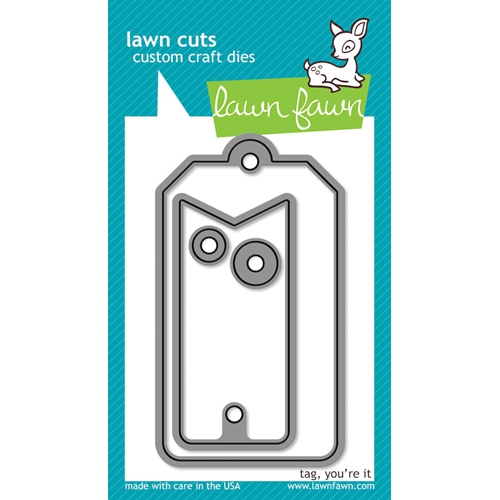 Lawn Fawn TAG YOU'RE IT Lawn Cuts Dies LF575 Preview Image