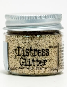 Tim Holtz Distress Glitter ANTIQUE LINEN Ranger TDG39112