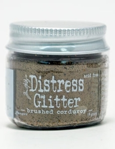 Tim Holtz Distress Glitter BRUSHED CORDUROY Ranger TDG39143