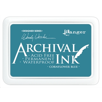 Ranger Wendy Vecchi Archival CORNFLOWER BLUE Ink Pad AID38955 *