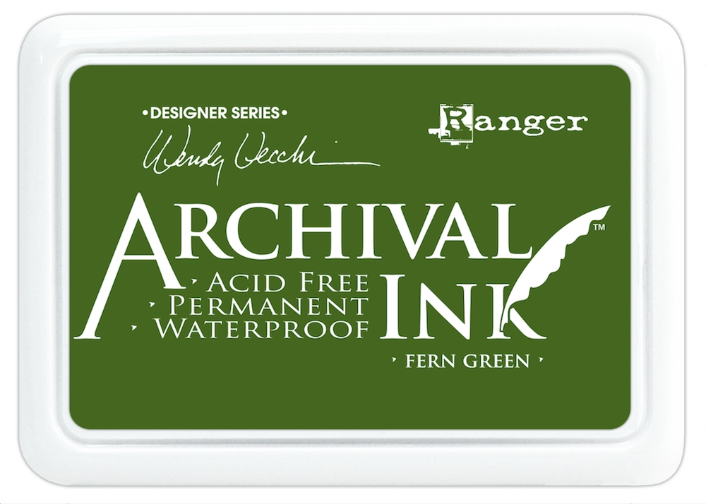 Ranger Wendy Vecchi Archival FERN GREEN Ink Pad AID38962 zoom image