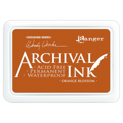 Ranger Wendy Vecchi Archival ORANGE BLOSSOM Ink Pad AID38986* Preview Image