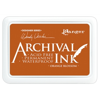 Ranger Wendy Vecchi Archival ORANGE BLOSSOM Ink Pad AID38986