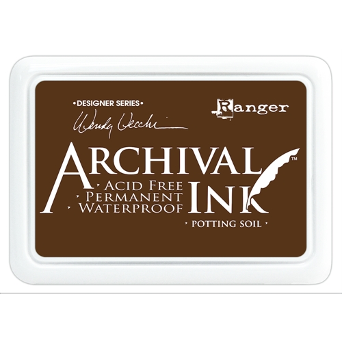Ranger Wendy Vecchi Archival Ink Pad - Potting Soil