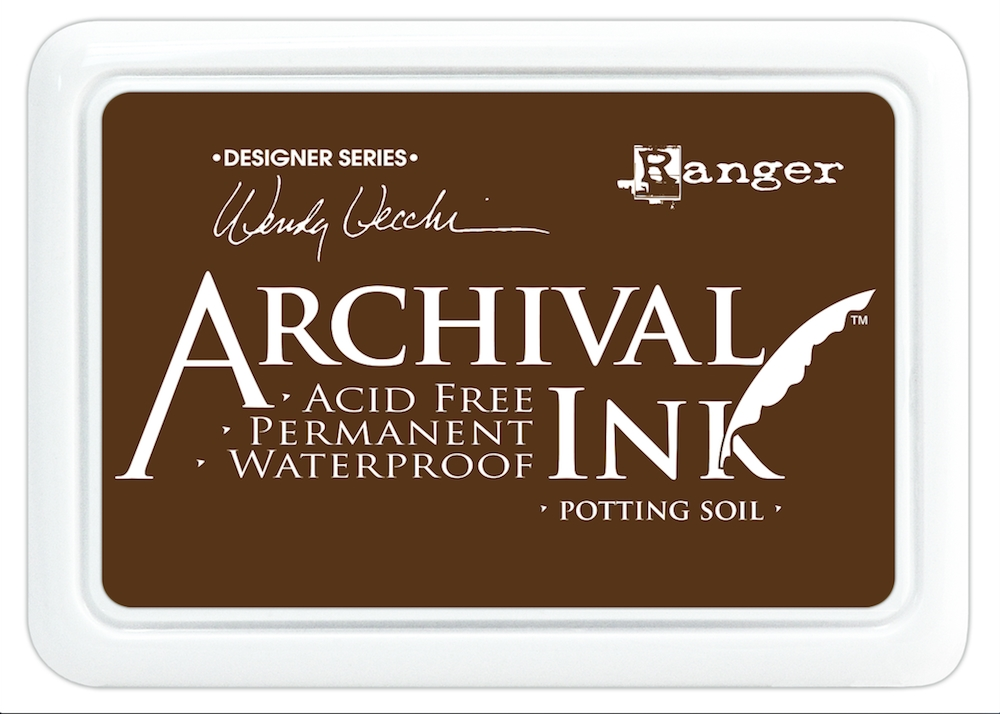 Ranger Wendy Vecchi Archival POTTING SOIL Ink Pad AID38979 zoom image