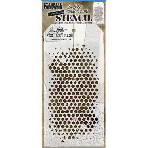 Tim Holtz Layering Stencil BUBBLE THS002 Preview Image