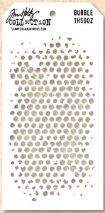 Tim Holtz Layering Stencil BUBBLE THS002