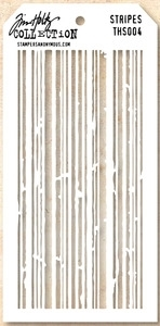 Tim Holtz Layering Stencil STRIPES THS004