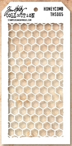 Tim Holtz Layering Stencil HONEYCOMB THS005 zoom image