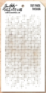 Tim Holtz Layering Stencil DOT FADE THS006 Preview Image