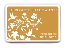 Hero Arts Shadow Ink Pad PUMPKIN PIE Orange Mid-Tone AF255 zoom image