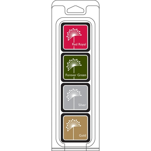 Hero Arts Mini CUBE INK PADS Set CHRISTMAS af254 Preview Image