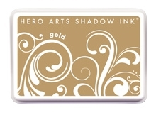 Hero Arts Shadow Ink Pad GOLD AF258 Preview Image