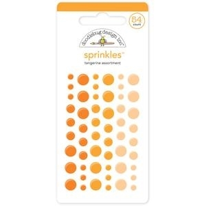 Doodlebug TANGERINE Sprinkles Assortment 4007 Preview Image