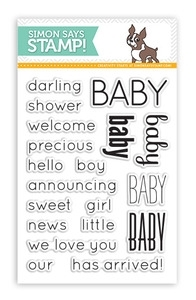 Simon Says Clear Stamps BABY SSS101345 Preview Image
