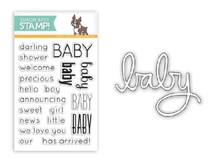 Simon Says Stamps And Dies DARLING BABY SetDB23 Preview Image