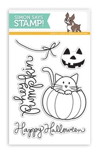 Simon Says Clear Stamps HEY PUMPKIN SSS101363