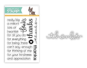 Simon Says Stamps And Dies REALLY BIG THANKS SetRB31 Preview Image