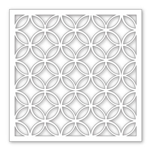 Simon Says Stamp Stencil DIAMOND CIRCLES SSST121303