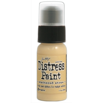 Tim Holtz Distress Paint SCATTERED STRAW Ranger TDD38597