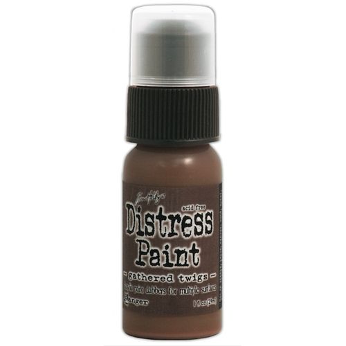 Tim Holtz Distress Paint GATHERED TWIGS Ranger TDD38542 Preview Image