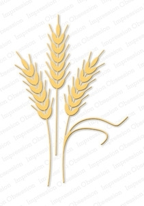 Impression Obsession Steel Dies WHEAT DIE085-X Preview Image