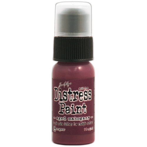 Tim Holtz Distress Paint AGED MAHOGANY Ranger TDD38498 Preview Image