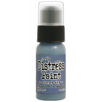 Tim Holtz Distress Paint STORMY SKY Ranger TDD38603