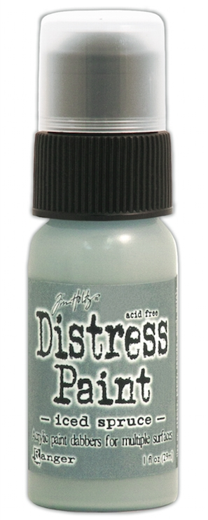 Tim Holtz Distress Paint ICED SPRUCE Ranger TDD38559 zoom image
