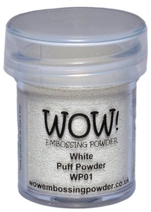 WOW Embossing Powder WHITE PUFF Regular WP01 Preview Image