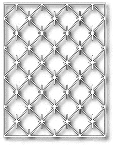 Poppy Stamps DIAMOND BACKGROUND Craft Die 965 Preview Image