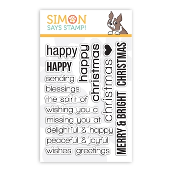 Simon Says Clear Stamps CHRISTMAS SSS101353