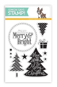 Simon Says Clear Stamps MERRY TREES SSS101354