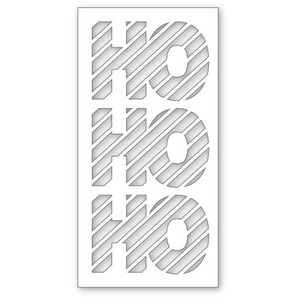 Simon Says Stamp Stencil HO HO HO SSST121321 Preview Image