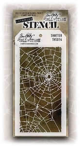 Tim Holtz Layering Stencil SHATTER THS014 Preview Image