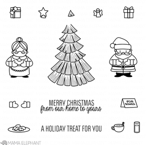 Mama Elephant Clear Stamps COZY CHRISTMAS* Preview Image