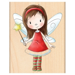 Penny Black Rubber Stamp FAIRY WISHES 4358J zoom image