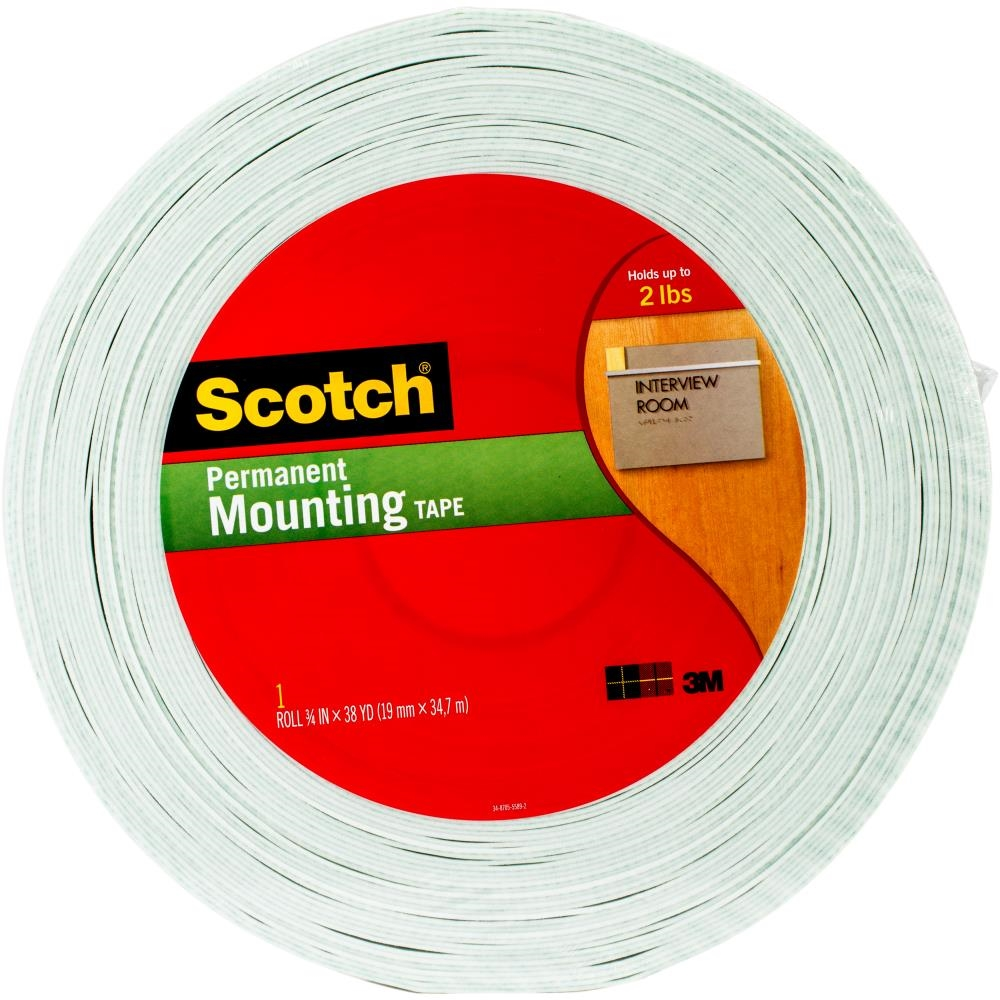 3M Scotch DOUBLE-SIDED FOAM TAPE Permanent 7504 zoom image