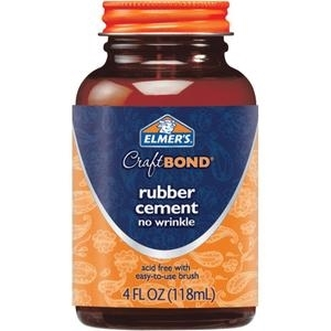 Elmer's RUBBER CEMENT Craft Bond Adhesive E425