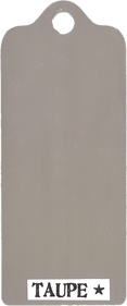 Paper Artsy Fresco Finish TAUPE Chalk Acrylic Paint 1.69oz FF60
